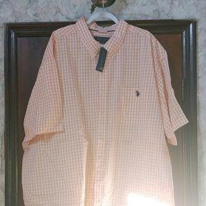Polo Checkered button down shirt